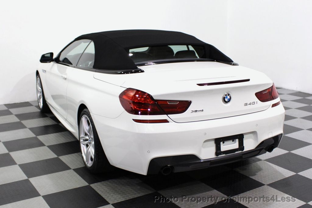 2015 BMW 6 Series CERTIFIED 640i xDrive AWD M SPORT COLD HUD NAV CAM HK LED - 18346383 - 16