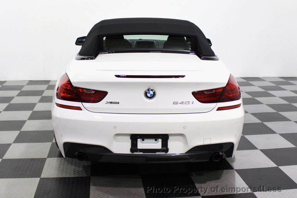 2015 BMW 6 Series CERTIFIED 640i xDrive AWD M SPORT COLD HUD NAV CAM HK LED - 18346383 - 17