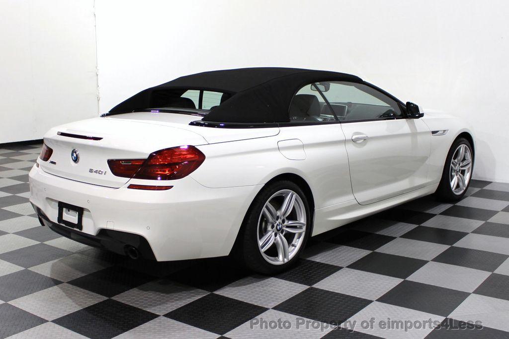 2015 BMW 6 Series CERTIFIED 640i xDrive AWD M SPORT COLD HUD NAV CAM HK LED - 18346383 - 18