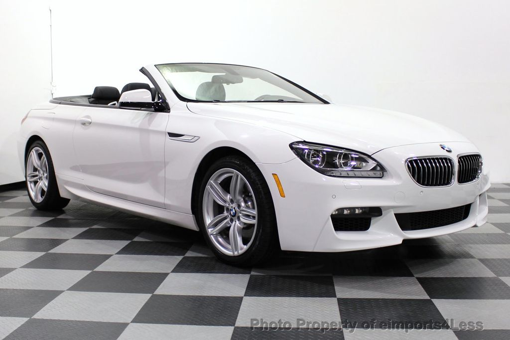 2015 BMW 6 Series CERTIFIED 640i xDrive AWD M SPORT COLD HUD NAV CAM HK LED - 18346383 - 1