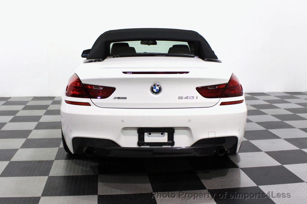 2015 BMW 6 Series CERTIFIED 640i xDrive AWD M SPORT COLD HUD NAV CAM HK LED - 18346383 - 31