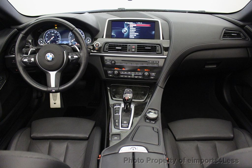 2015 BMW 6 Series CERTIFIED 640i xDrive AWD M SPORT COLD HUD NAV CAM HK LED - 18346383 - 34