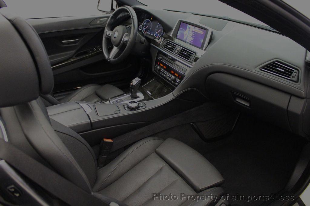 2015 BMW 6 Series CERTIFIED 640i xDrive AWD M SPORT COLD HUD NAV CAM HK LED - 18346383 - 39