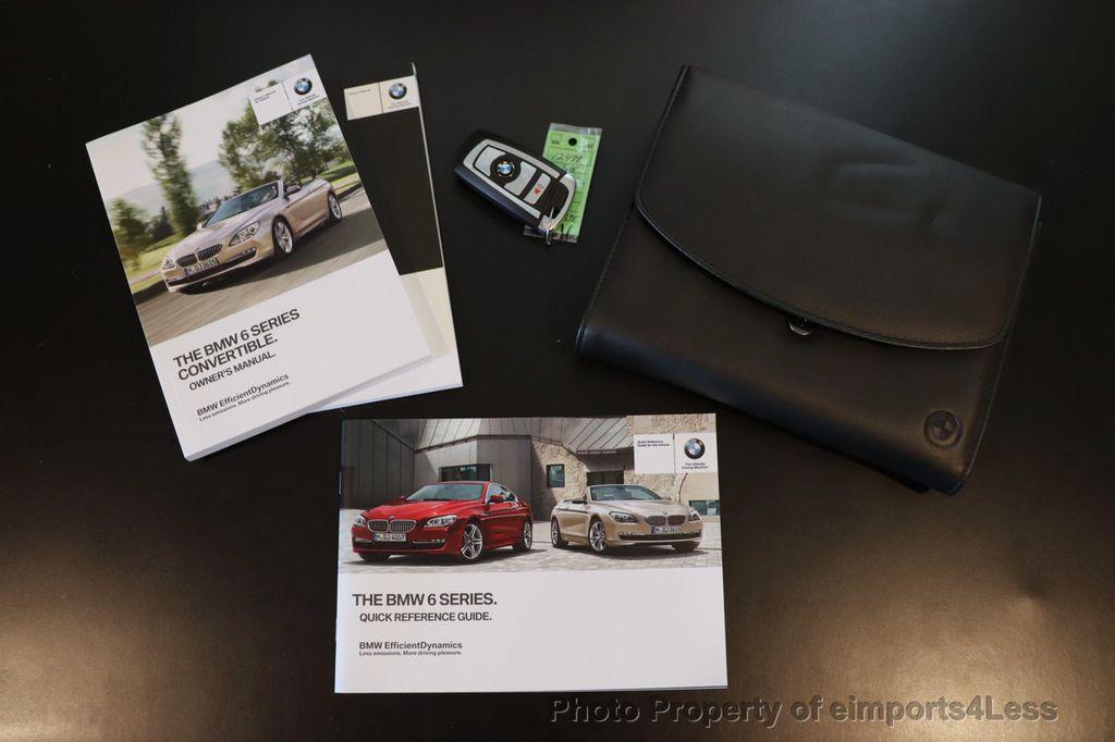 2015 BMW 6 Series CERTIFIED 640i xDrive AWD M SPORT COLD HUD NAV CAM HK LED - 18346383 - 40