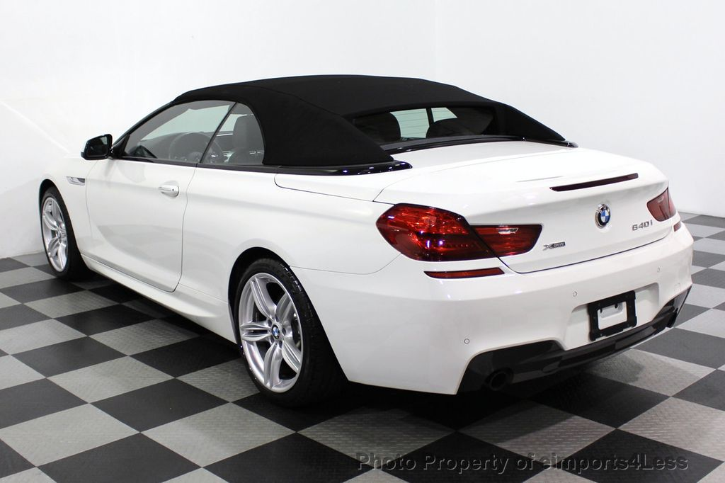 2015 BMW 6 Series CERTIFIED 640i xDrive AWD M SPORT COLD HUD NAV CAM HK LED - 18346383 - 47