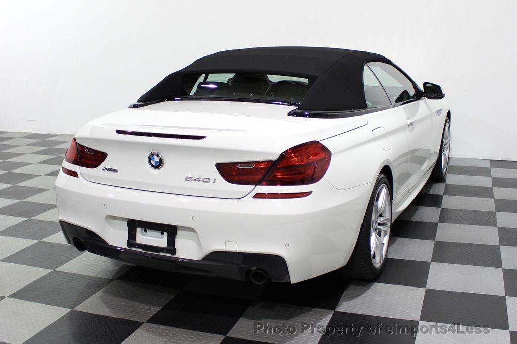 2015 BMW 6 Series CERTIFIED 640i xDrive AWD M SPORT COLD HUD NAV CAM HK LED - 18346383 - 48