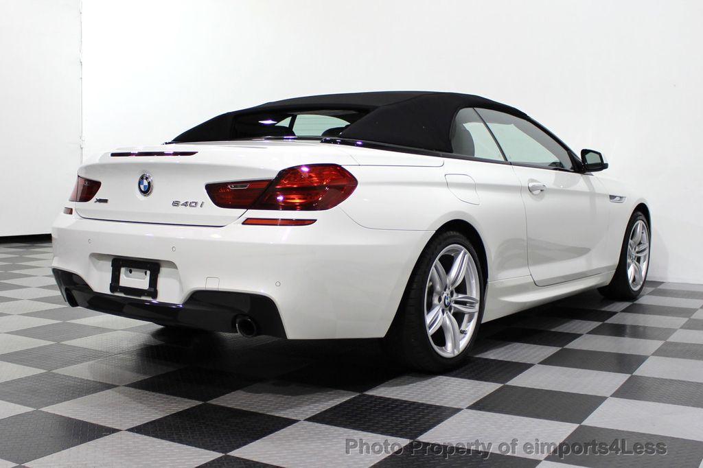 2015 BMW 6 Series CERTIFIED 640i xDrive AWD M SPORT COLD HUD NAV CAM HK LED - 18346383 - 55