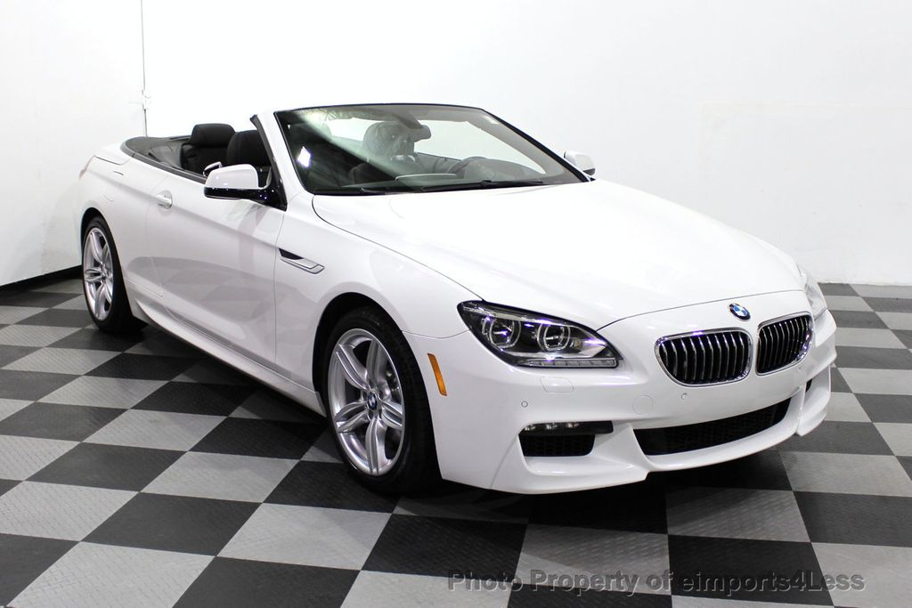 2015 BMW 6 Series CERTIFIED 640i xDrive AWD M SPORT COLD HUD NAV CAM HK LED - 18346383 - 56