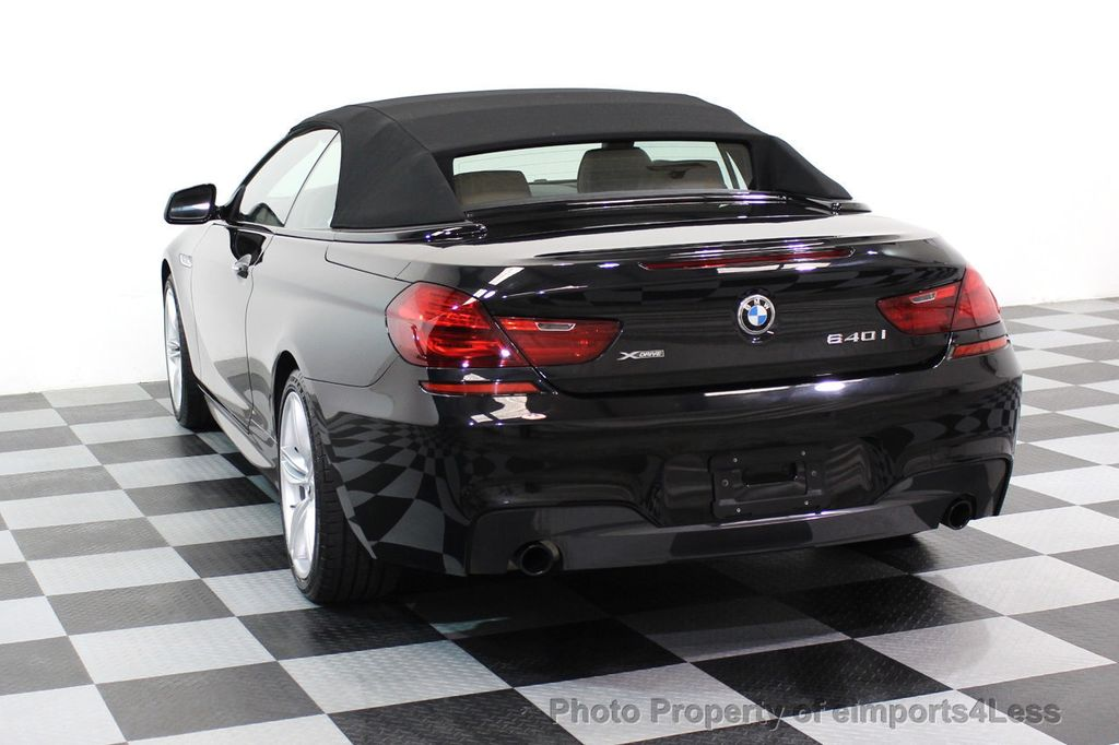 2015 BMW 6 Series CERTIFIED 640i xDRIVE M Sport Package AWD - 17526542 - 15