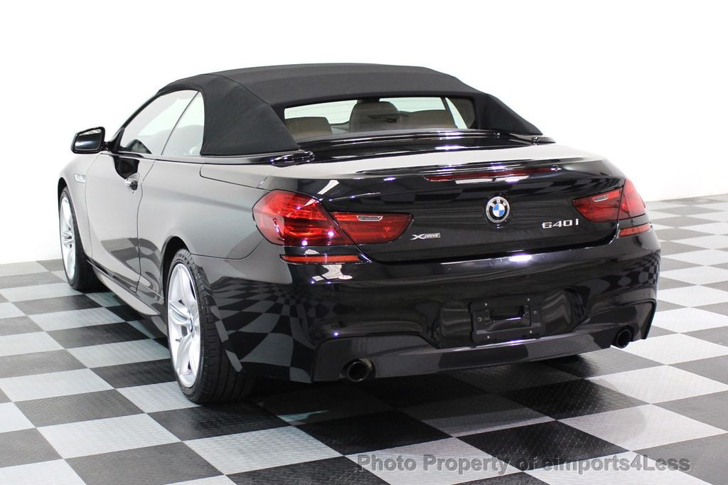 2015 BMW 6 Series CERTIFIED 640i xDRIVE M Sport Package AWD - 17526542 - 2
