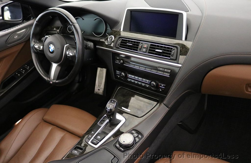 2015 BMW 6 Series CERTIFIED 640i xDRIVE M Sport Package AWD - 17526542 - 34
