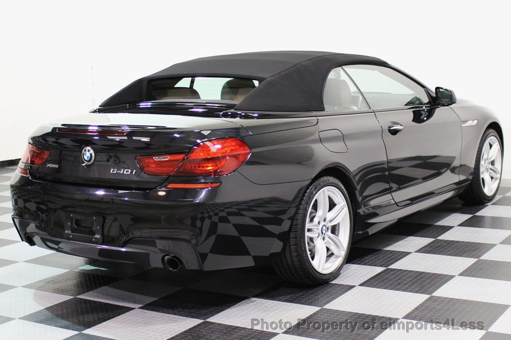 2015 BMW 6 Series CERTIFIED 640i xDRIVE M Sport Package AWD - 17526542 - 46