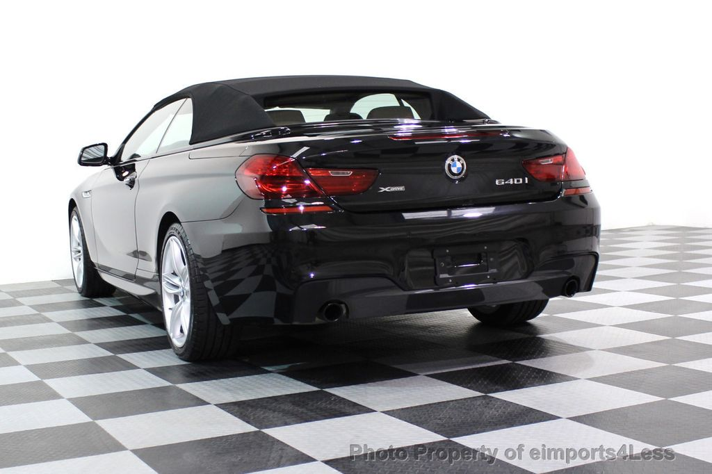 2015 BMW 6 Series CERTIFIED 640i xDRIVE M Sport Package AWD - 17526542 - 53