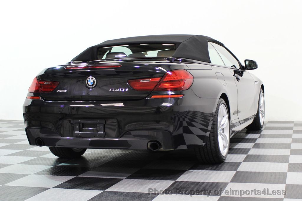 2015 BMW 6 Series CERTIFIED 640i xDRIVE M Sport Package AWD - 17526542 - 54