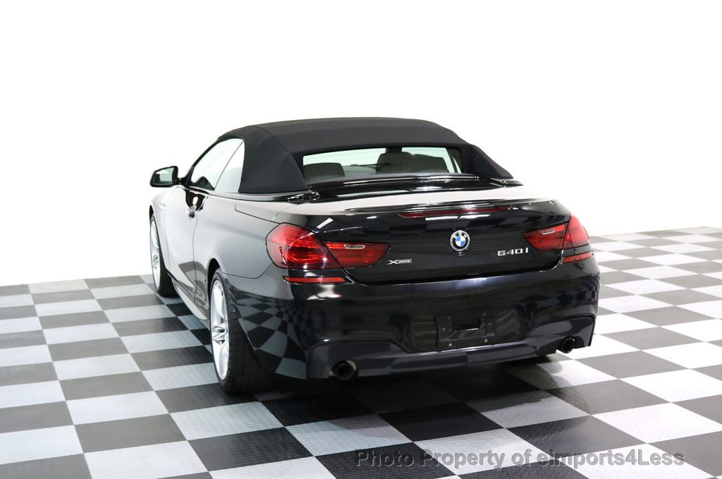 2015 BMW 6 Series CERTIFIED 640i xDRIVE M Sport Package AWD DRIVER ASSIST - 17565915 - 15