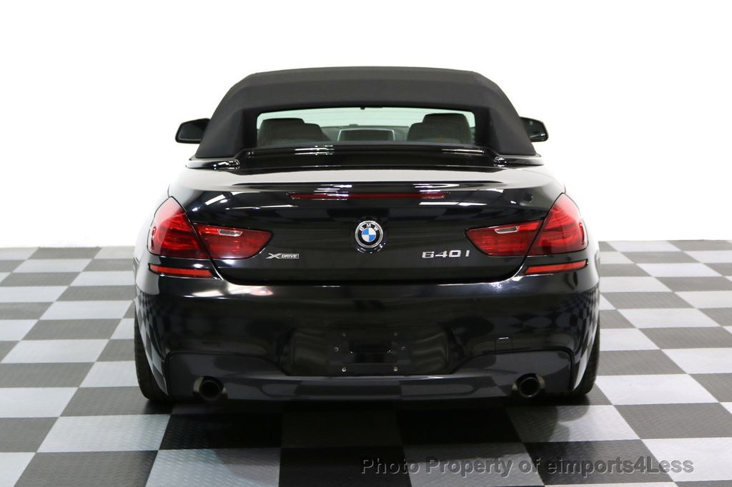 2015 BMW 6 Series CERTIFIED 640i xDRIVE M Sport Package AWD DRIVER ASSIST - 17565915 - 16