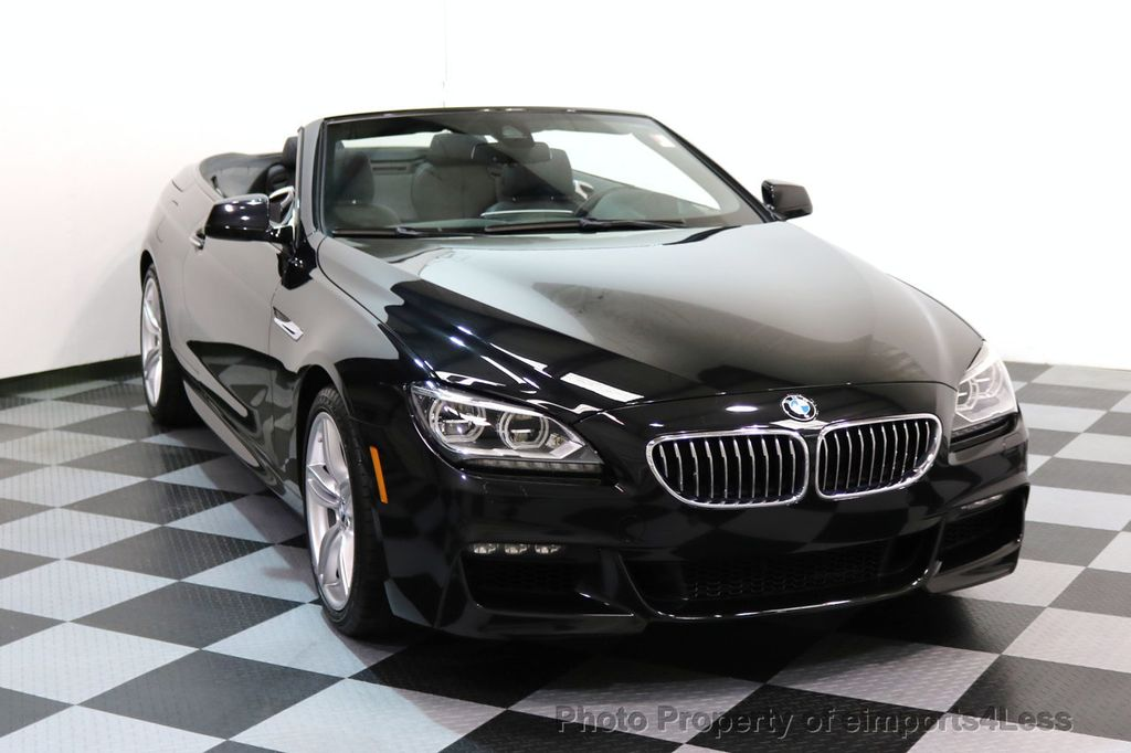 2015 BMW 6 Series CERTIFIED 640i xDRIVE M Sport Package AWD DRIVER ASSIST - 17565915 - 27