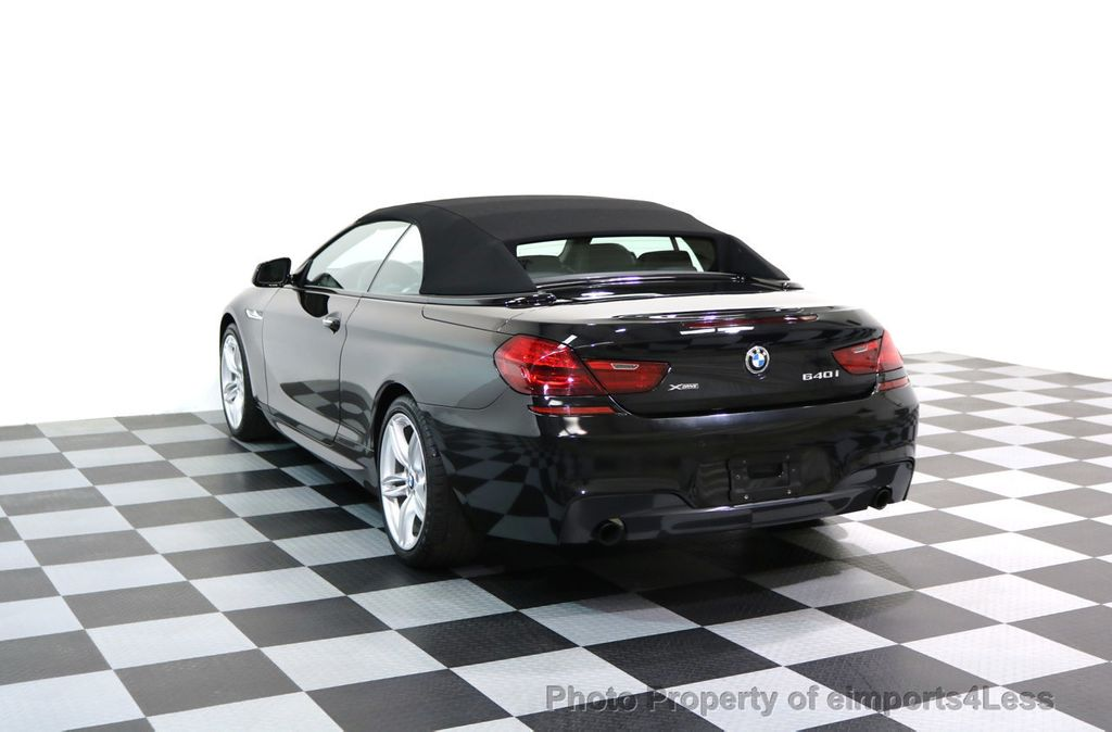 2015 BMW 6 Series CERTIFIED 640i xDRIVE M Sport Package AWD DRIVER ASSIST - 17565915 - 28