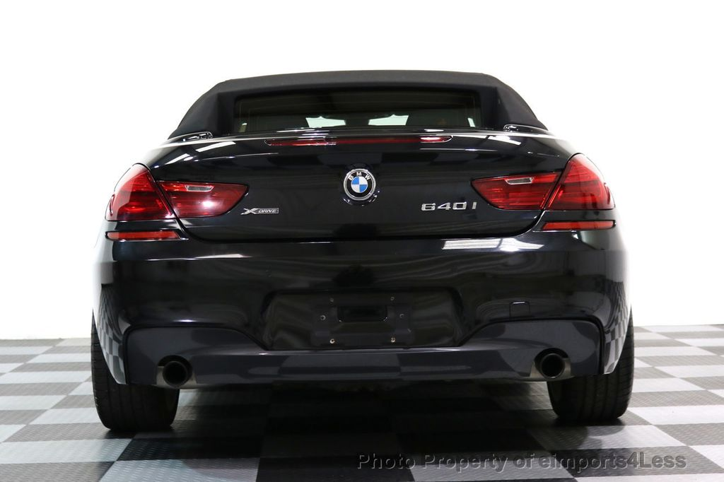 2015 BMW 6 Series CERTIFIED 640i xDRIVE M Sport Package AWD DRIVER ASSIST - 17565915 - 29
