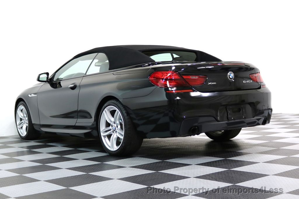 2015 BMW 6 Series CERTIFIED 640i xDRIVE M Sport Package AWD DRIVER ASSIST - 17565915 - 41