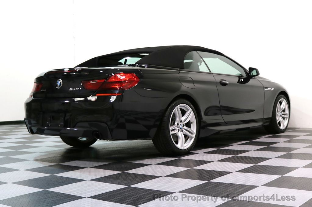 2015 BMW 6 Series CERTIFIED 640i xDRIVE M Sport Package AWD DRIVER ASSIST - 17565915 - 42