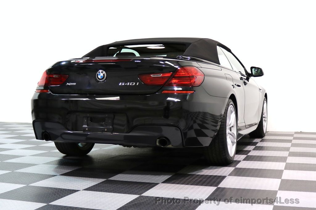2015 BMW 6 Series CERTIFIED 640i xDRIVE M Sport Package AWD DRIVER ASSIST - 17565915 - 49
