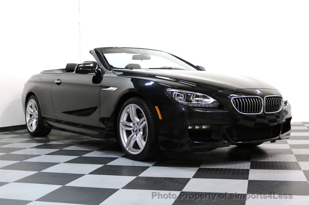 2015 BMW 6 Series CERTIFIED 640i xDRIVE M Sport Package AWD DRIVER ASSIST - 17565915 - 50