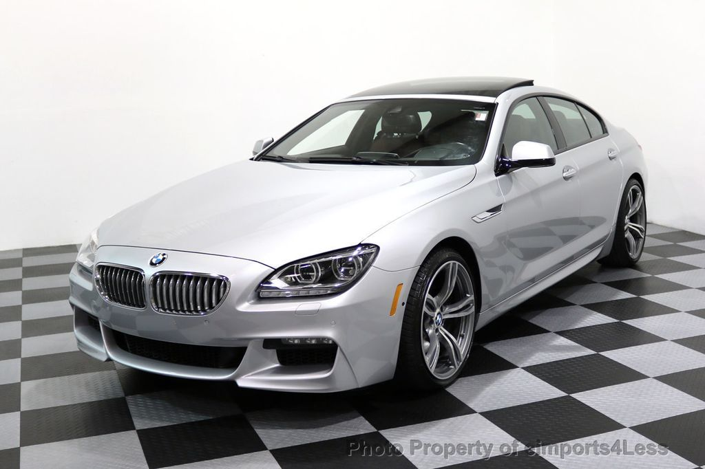 2015 BMW 6 Series CERTIFIED 650i xDRIVE Gran Coupe 4Dr AWD M SPORT EXEC  - 17110250 - 0