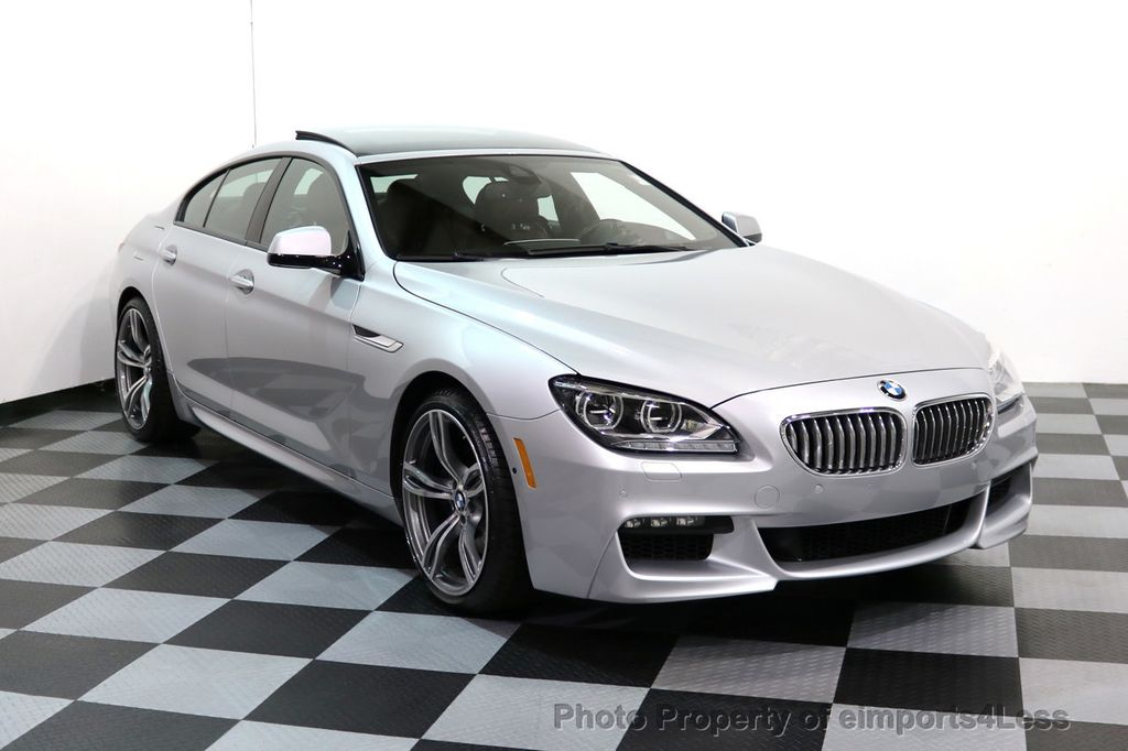 2015 BMW 6 Series CERTIFIED 650i xDRIVE Gran Coupe 4Dr AWD M SPORT EXEC  - 17110250 - 14