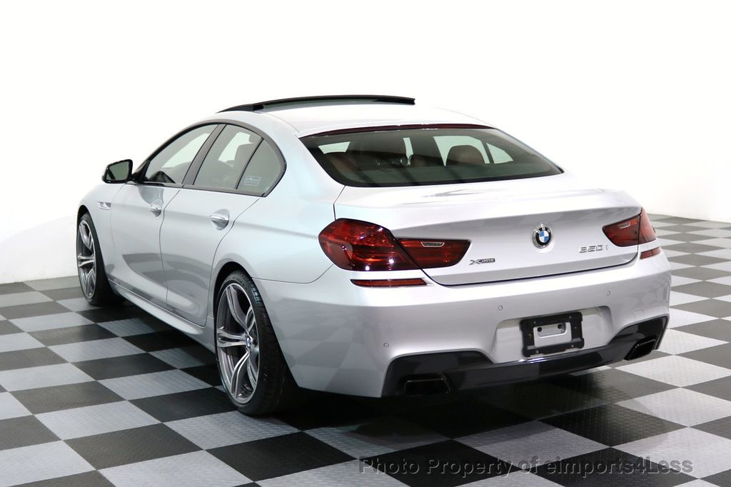 2015 BMW 6 Series CERTIFIED 650i xDRIVE Gran Coupe 4Dr AWD M SPORT EXEC  - 17110250 - 15