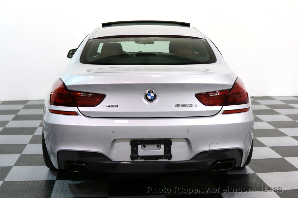 2015 BMW 6 Series CERTIFIED 650i xDRIVE Gran Coupe 4Dr AWD M SPORT EXEC  - 17110250 - 16