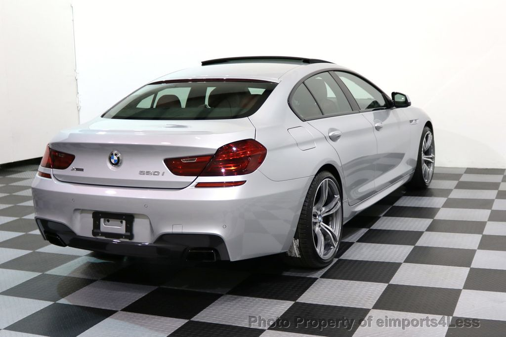 2015 BMW 6 Series CERTIFIED 650i xDRIVE Gran Coupe 4Dr AWD M SPORT EXEC  - 17110250 - 17