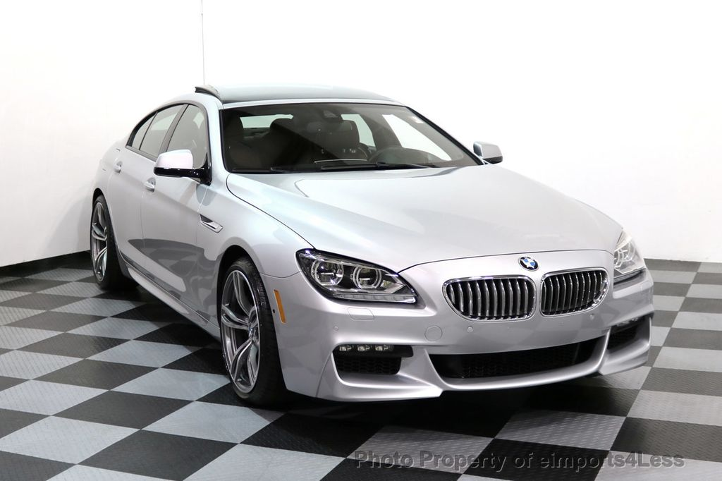 2015 BMW 6 Series CERTIFIED 650i xDRIVE Gran Coupe 4Dr AWD M SPORT EXEC  - 17110250 - 1