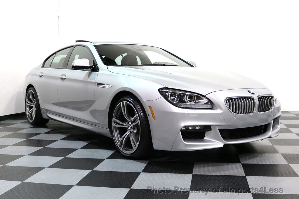 2015 BMW 6 Series CERTIFIED 650i xDRIVE Gran Coupe 4Dr AWD M SPORT EXEC  - 17110250 - 28