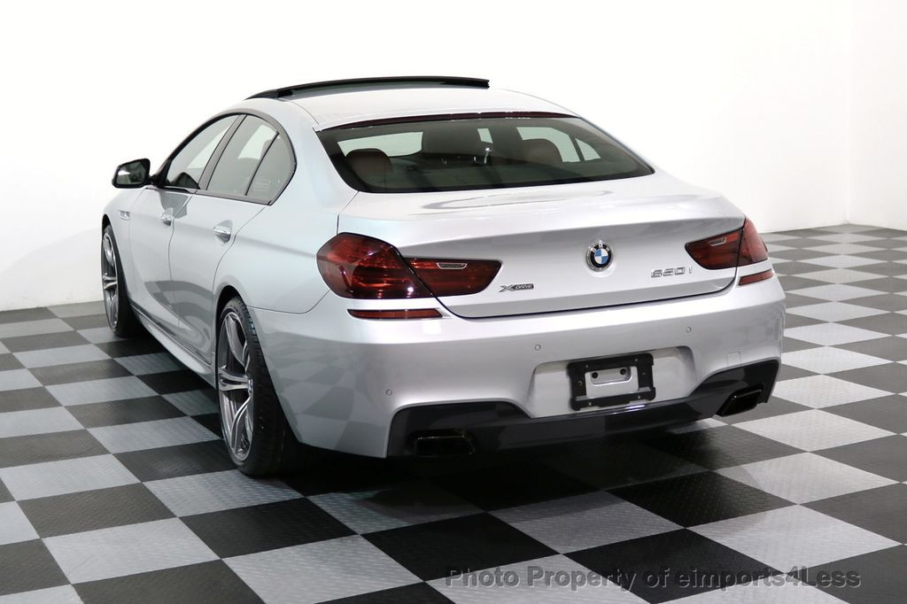 2015 BMW 6 Series CERTIFIED 650i xDRIVE Gran Coupe 4Dr AWD M SPORT EXEC  - 17110250 - 2