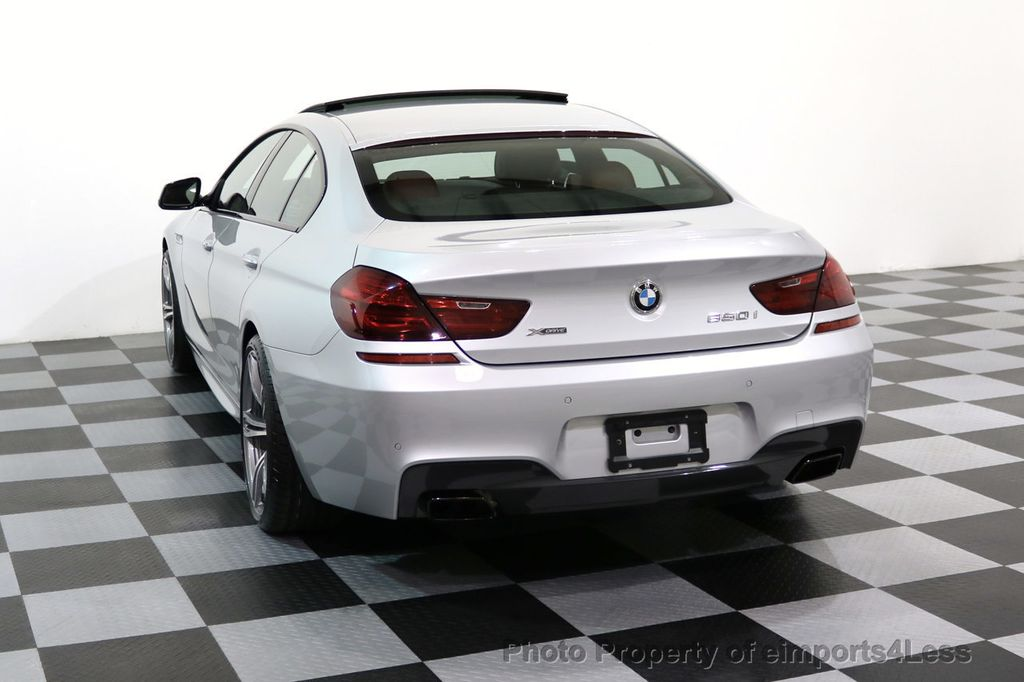 2015 BMW 6 Series CERTIFIED 650i xDRIVE Gran Coupe 4Dr AWD M SPORT EXEC  - 17110250 - 29