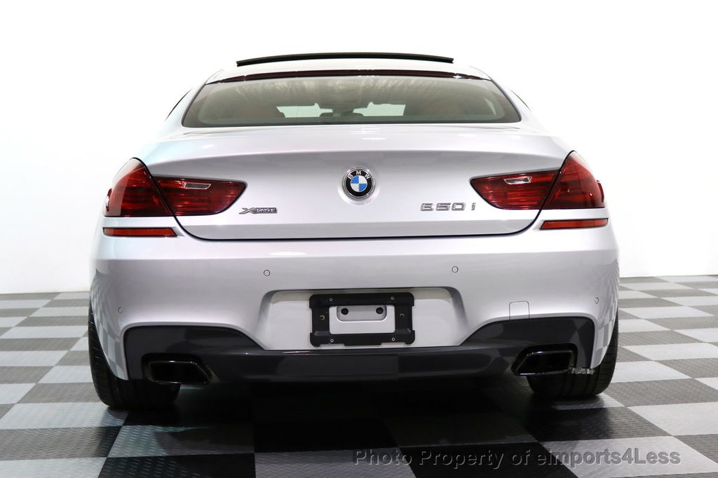 2015 BMW 6 Series CERTIFIED 650i xDRIVE Gran Coupe 4Dr AWD M SPORT EXEC  - 17110250 - 30