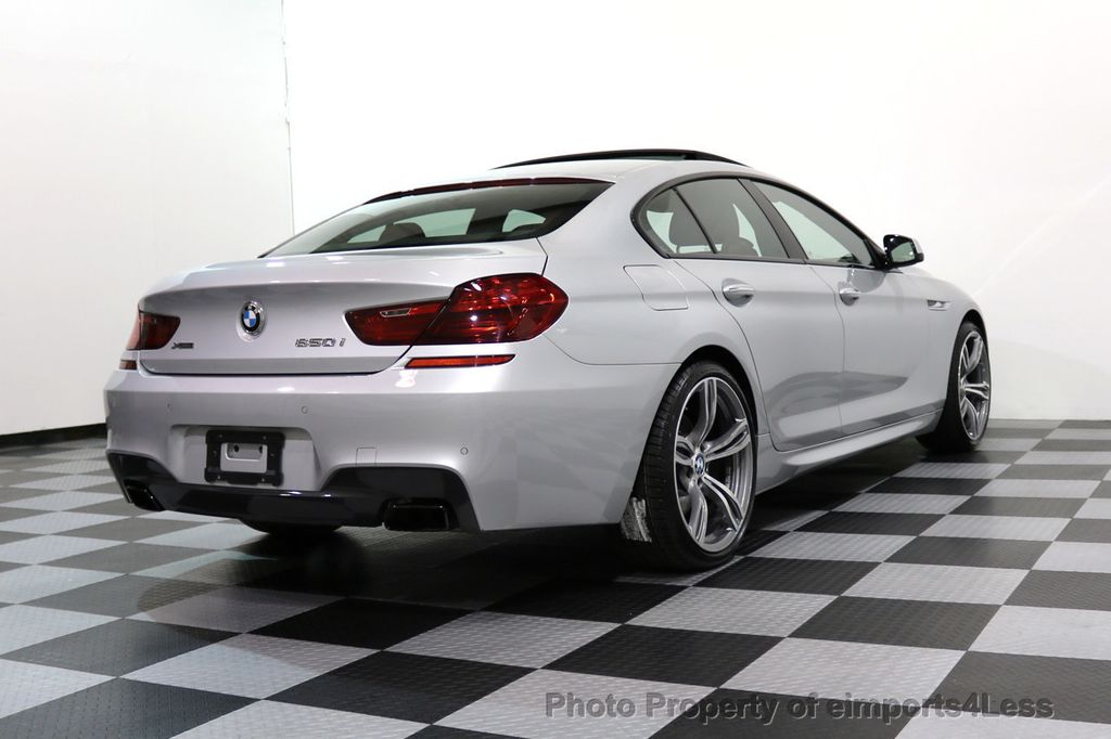 2015 BMW 6 Series CERTIFIED 650i xDRIVE Gran Coupe 4Dr AWD M SPORT EXEC  - 17110250 - 31