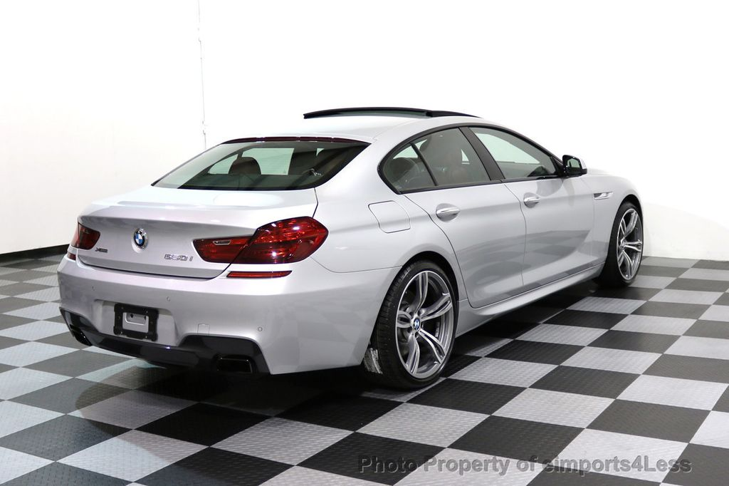 2015 BMW 6 Series CERTIFIED 650i xDRIVE Gran Coupe 4Dr AWD M SPORT EXEC  - 17110250 - 3