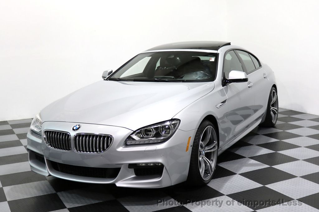 2015 BMW 6 Series CERTIFIED 650i xDRIVE Gran Coupe 4Dr AWD M SPORT EXEC  - 17110250 - 40