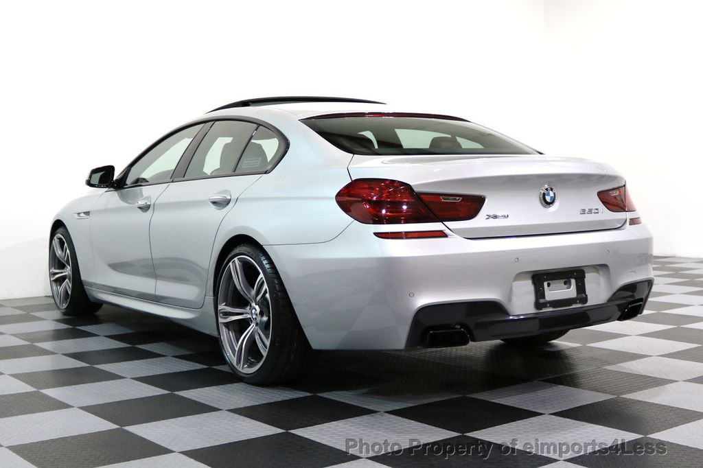 2015 BMW 6 Series CERTIFIED 650i xDRIVE Gran Coupe 4Dr AWD M SPORT EXEC  - 17110250 - 41