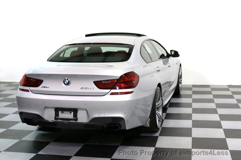 2015 BMW 6 Series CERTIFIED 650i xDRIVE Gran Coupe 4Dr AWD M SPORT EXEC  - 17110250 - 42