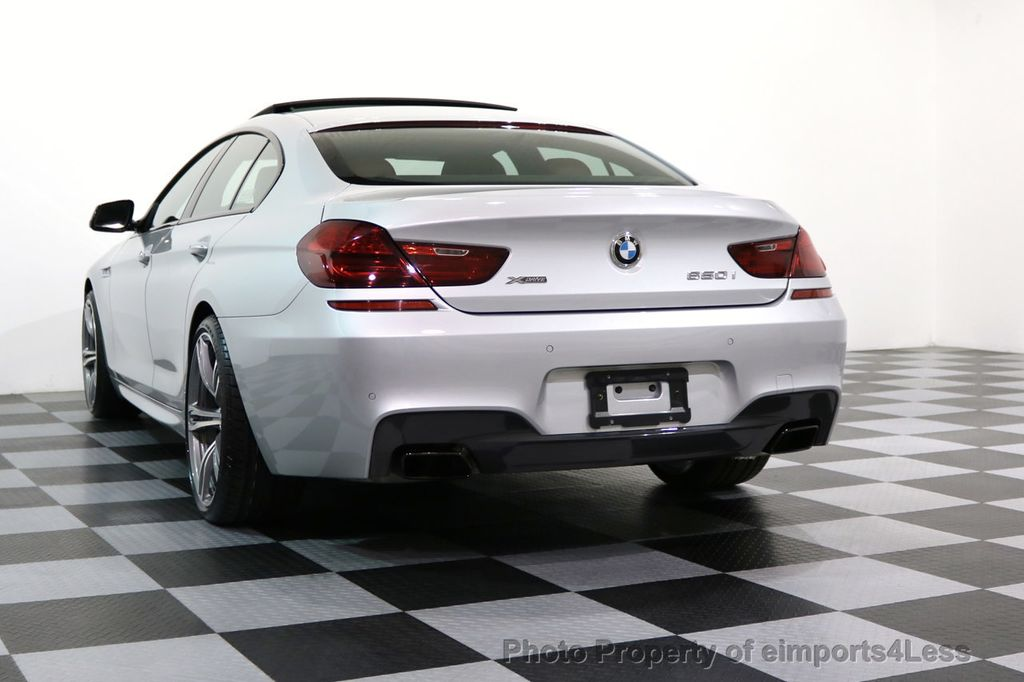 2015 BMW 6 Series CERTIFIED 650i xDRIVE Gran Coupe 4Dr AWD M SPORT EXEC  - 17110250 - 51