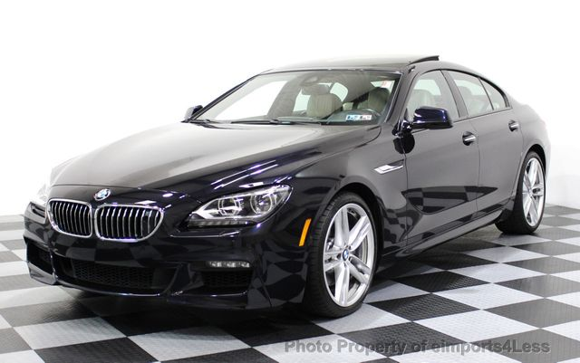 2015 used bmw 6 series certified 650i xdrive gran coupe. Black Bedroom Furniture Sets. Home Design Ideas