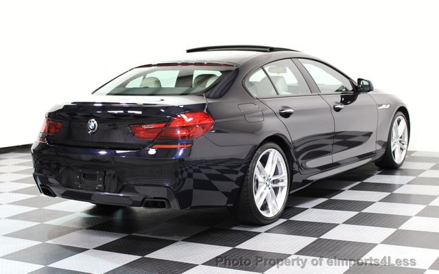 2015 BMW 6 Series CERTIFIED 650i xDRIVE Gran Coupe AWD M SPORT LIGHTING EXEC - 16581509 - 17