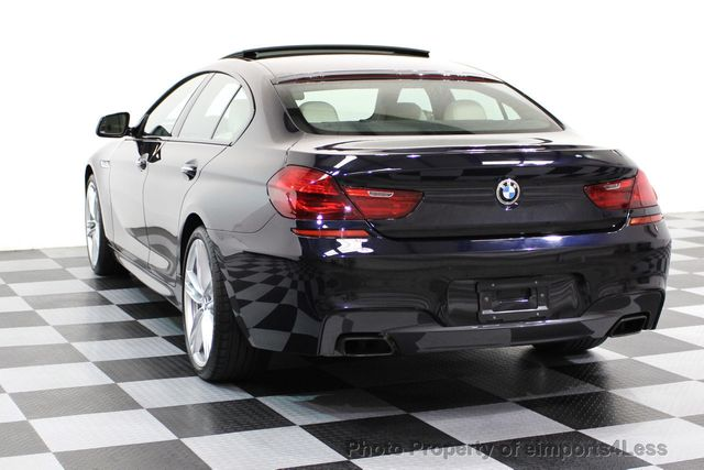 2015 BMW 6 Series CERTIFIED 650i xDRIVE Gran Coupe AWD M SPORT LIGHTING EXEC - 16581509 - 40