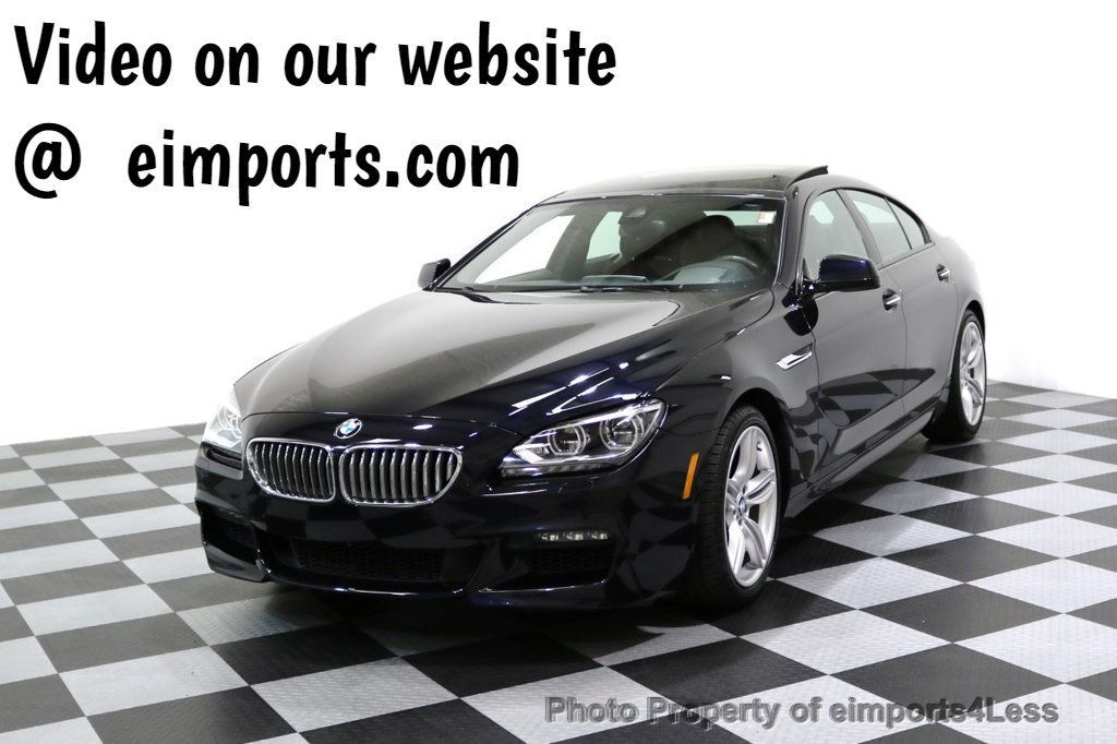 2015 BMW 6 Series CERTIFIED 650i xDRIVE M Sport AWD Gran Coupe  - 17425273 - 0