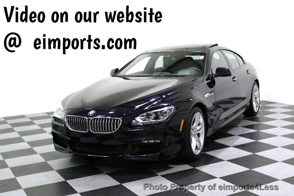 2015 BMW 6 Series CERTIFIED 650i xDRIVE M Sport AWD Gran Coupe  - 17425273 - 0