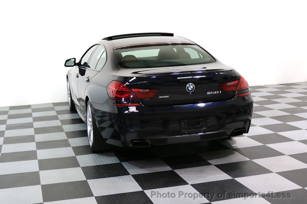 2015 BMW 6 Series CERTIFIED 650i xDRIVE M Sport AWD Gran Coupe  - 17425273 - 16