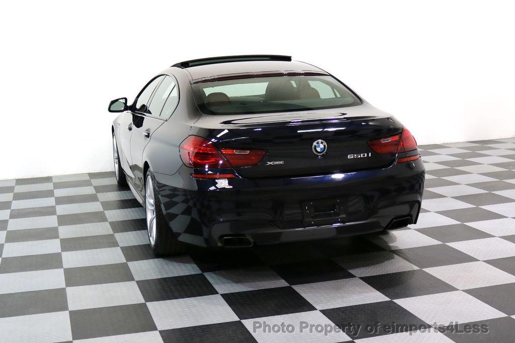 2015 BMW 6 Series CERTIFIED 650i xDRIVE M Sport AWD Gran Coupe  - 17425273 - 16